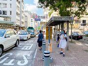 Wan Tau Street Tai Po bus stop 24-07-2020