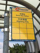 CTB alighting stop in Sunny Bay