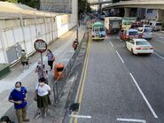 Cheung Wing Road bus stop 23-08-2021