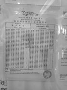 NR815 timetable