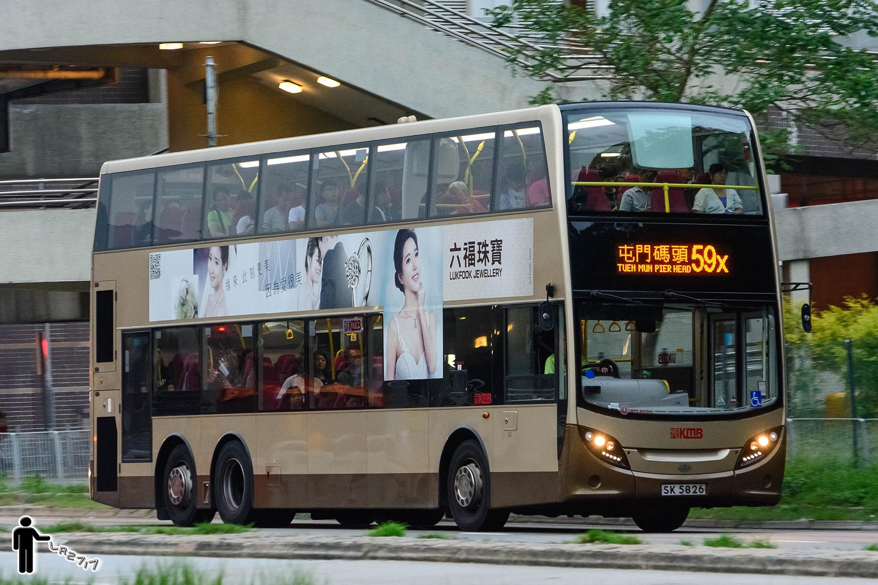九巴59X線