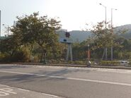 Pak Shek Kok Chong San Rd Northbound Stop Flag 20201227