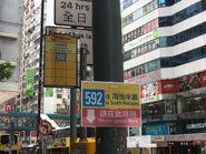 Hysan Place CTB 592 bus stop 30-08-2017