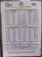NR110-NR113 timetable eff 20150301