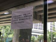 Jordon Road to Lam Tin notice for suspend 0300 departure