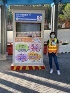 NWFB and Citybus ETA display in Tseung Kwan O Bus-Bus Interchange 03-10-2020