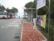 CUHK bus stop NA dn
