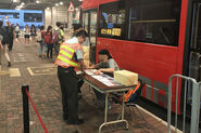 Tuen Mun Station 60M Bus parade Booth
