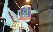 LWB A41 bus stop