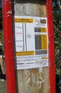 NR806 Bus Stop 26-10-2020