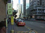 Scout Centre temporary bus stop Dec12