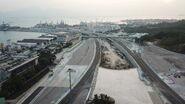 Tuen Mun Chek Lap Kok Tunnel Interchange - Drone 3