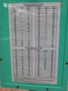NR809 timetable eff 20190601