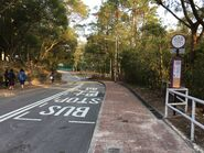 New Asia College for CUHK 8 N H bus stop view 04-04-2018