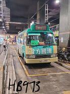 Minibus LX742 at Sheung Tak Bus Terminus