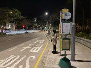 Wong Chuk Hang San Wai bus stop 05-02-2021