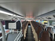 KMB V6X (Full White Interior) Upper Deck compartment