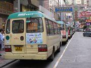 Jaffe Road GMB queue