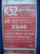 K52 LastBusDepartTimeSheet