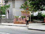 Ying Wa Girls' School bus stop----(2013 10)
