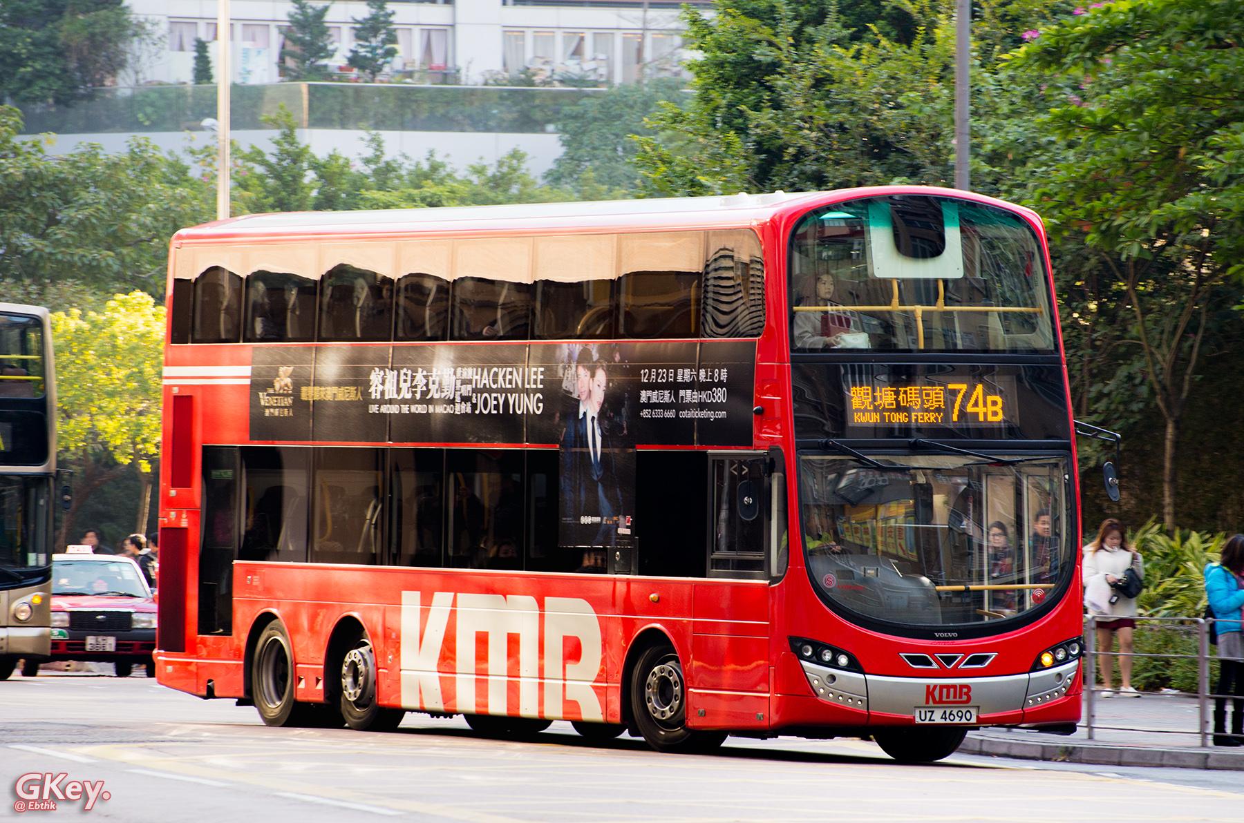 九巴74B線