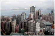 Shek Tong Tsui view from HKU 201211