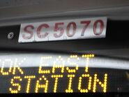 KMB cabin number plate SC5070