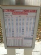 DBTSL Golf Club bus information