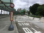 Ho Man Tin Railway Station bus stop 08-07-2017