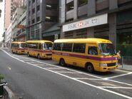 Three Private School Bus