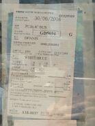 CX6 Motor Vehicle Licence