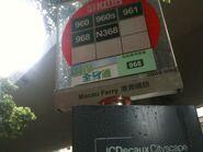 KMB Macau Ferry bus stop
