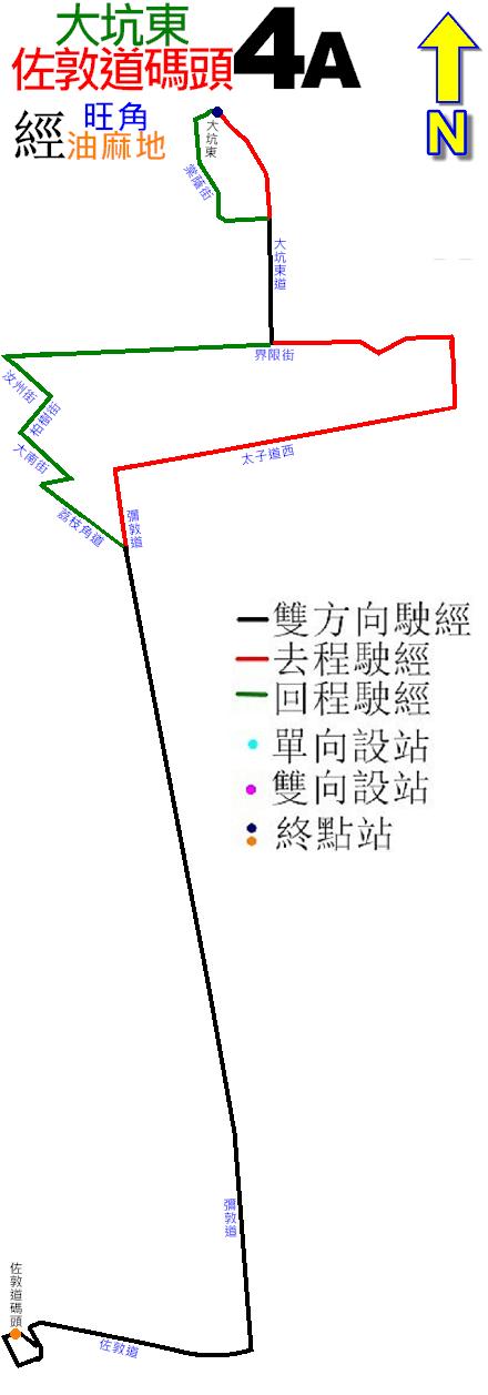 九巴4A線