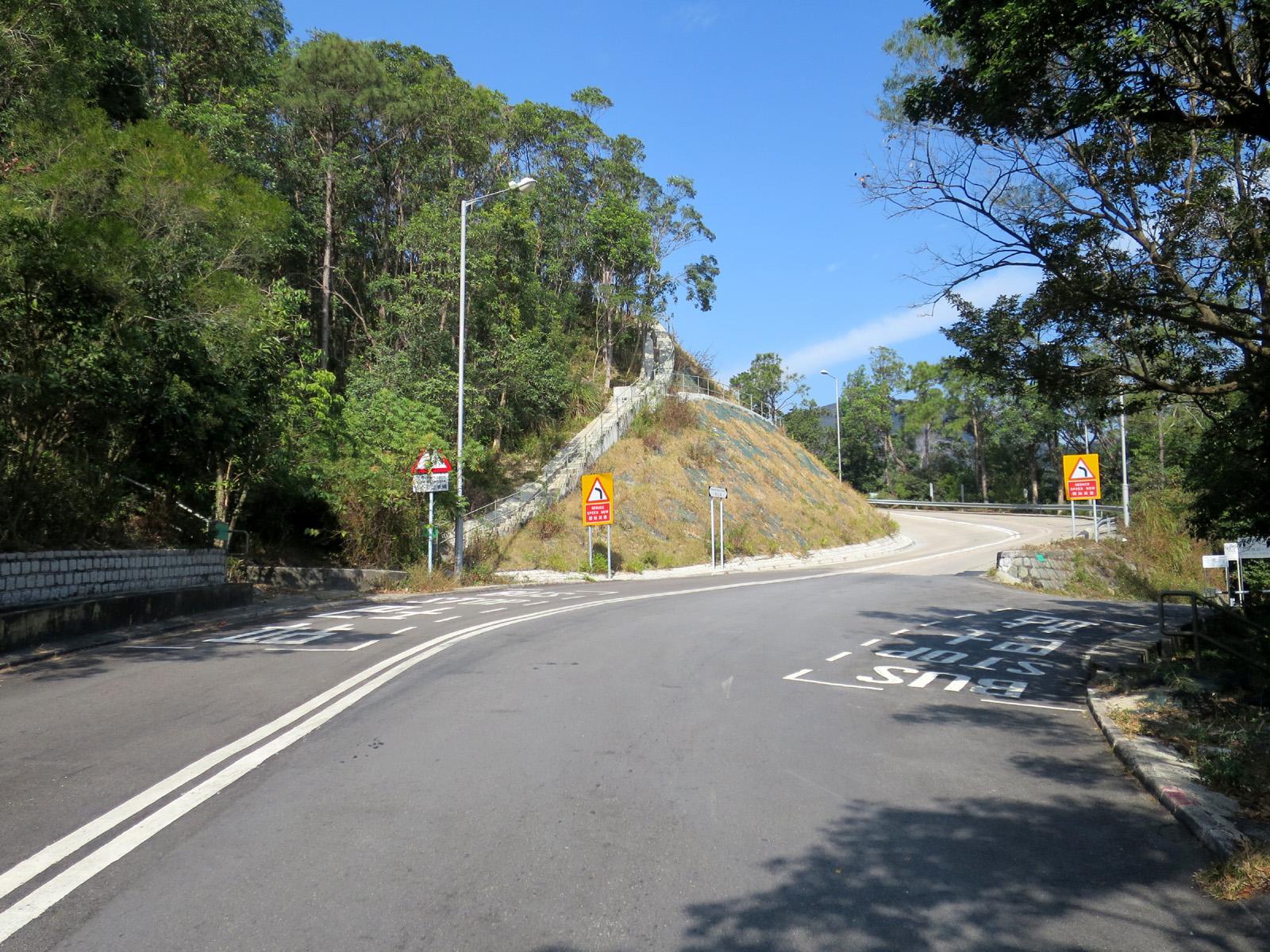 石壁坳引水道通道