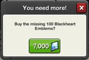 Event Fellmire Portal Blackheart Emblem price