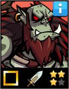 Greenmist Ogre Chief EL3 card