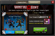 Event Vampire Hunt Window