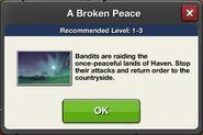 A Broken Peace