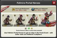 Event Fellmire Portal window heroes