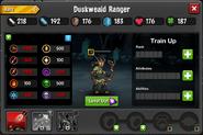 Duskweald Ranger Resistances EL1-2