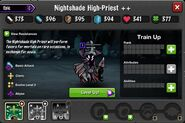 Nightshade High Priest 1-3* captured stats