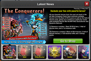 Collection Conquerors news