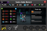Tundra Goblin Warlord Resistances EL3-4