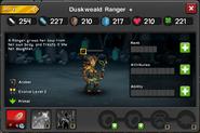 Duskweald Ranger EL2 summoned