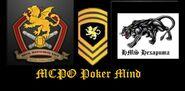 Chief's mug HMS Hexapuma MCPO Poker Mind