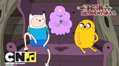 Canción 'Bmo y los amigos' Hora de Aventuras Cartoon Network