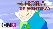 Hora de Aventuras Estaciones rana Invierno Cartoon Network