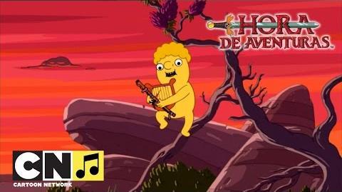 Limoncín Hora de Aventuras Cartoon Network