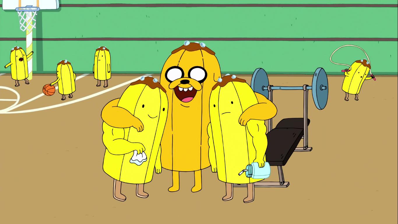 Banana Guardias Musculosos