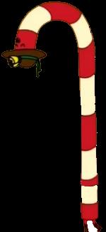 Señora Bastón de Caramelo